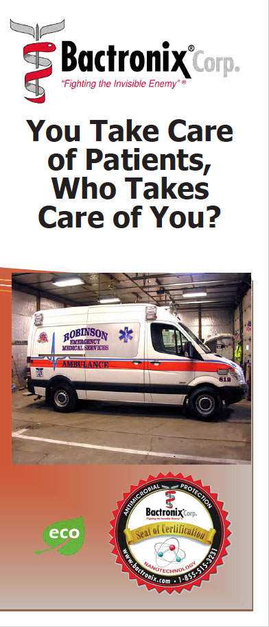 Disinfecting EMS - Ambulances and Emergency Vehicles