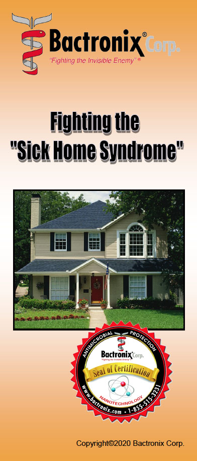 Eliminating Sick Home Syndrome - Disinfecting, Sanitizing and Odor removal