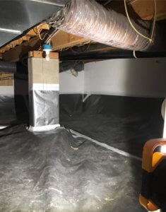 Vapor Barriers for Crawl Spaces Installed